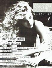 PUBLICITE ADVERTISING 116  1988  les salons de coiffure Jacques Dessange