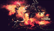 "23.6""*13.8"" Keyboard Mouse Pad Play Mat Card Game Custom Playmat D009 for DOTA 2"
