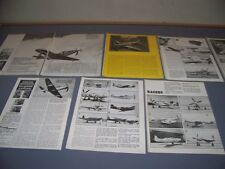 "VINTAGE..P-63 KINGCOBRA ""GIVEAWAY FIGHTER""..HISTORY/PHOTOS/DETAILS..RARE! (173E)"