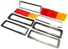 Ford Capri Escort MK1 1300 1600 GT Tail Light Lens Lamp Bezel Gasket Package