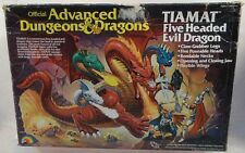 Advanced Dungeons & Dragons AD&D LJN Tiamat Five Headed Evil Dragon Mint In Box