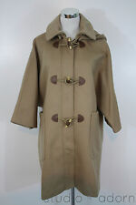 NEW J.CREW COLLECTION TOGGLE COAT $595 ITALIAN WOOL WINTER JACKET M MEDIUM