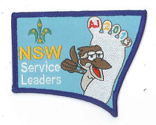 AJ2013 - AUSTRALIA SCOUT JAMBOREE - NEW SOUTH WALES SCOUTS SERVICE LEADER BADGE