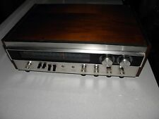 1970 Sherwood S-7100A AM/FM stereo receiver vintage silver face Good power sw
