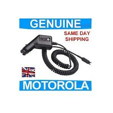 GENUINE Motorola V60 V66 V70 V80 E550 Phone in CAR CHARGER original mobile cell