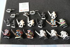 WARHAMMER Quest Skaven WARRIORS Esercito lotto OdL cifre Games Workshop FUORI CATALOGO GW