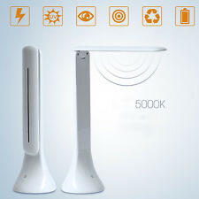 Foldable USB Rechargeable Touch Sensor LED Desk Table Lamp Reading Light