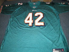 REEBOK NFL EQUIPMENT MIAMI DOLPHINS CHARLES CLAY JERSEY SIZE 4XL TALL