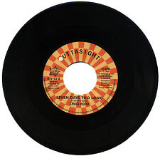 "CHUCK WOOD  ""SEVEN DAYS TOO LONG""    MONSTER CLUB / NORTHERN SOUL    LISTEN!"