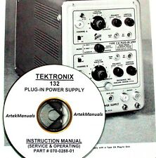 TEKTRONIX Operating & Service Manual for 132 Plug-In Power Supply