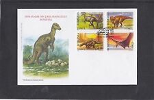 Romania 2005 Dinosaurs First Day Cover FDC Bucuresti pictorial fdi h/s