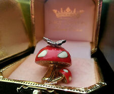 NEW JUICY COUTURE Red Mushroom Toadstool Charm: