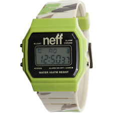 Neff Unisex Flava XL Surf Watch Camo Green Digital skate