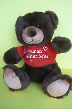 PELUCHE : TRES BEL OURS BRUN   A COLLECTIONNER OU A OFFRIR