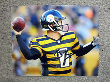 BEN ROETHLISBERGER Pittsburgh Steelers Autographed SIGNED 8x10 photo w/ COA
