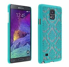 For Samsung Galaxy Note 4 Vintage Lace Damask Design Print Hard Case Thin Cover