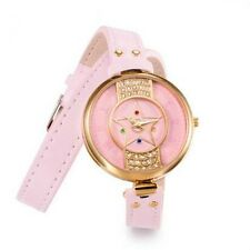 Anime Sailor Moon Usagi Tsukino Pink Crystal Watch Customized Gift Cosplay New