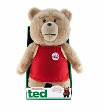 "OFFICIAL NEW 16"" TED 2 RED APRON MOVING EXPLICIT TALKING PLUSH BEAR R-RATED"