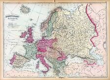 58 EUROPE maps antique  history VILLAGES towns GENEALOGY old SETTLEMENT DVD