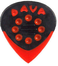 6 x Dava Jazz Grip Guitar Pick / Plectrum With Delrin Tips (Pack Of Six)