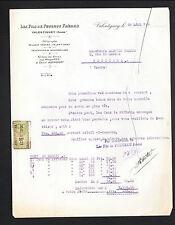 """VALENTIGNEY (25) OUTILS à BOIS / FERS RIFLARDS """"Les Fils de PEUGEOT Freres"""" 1921"""