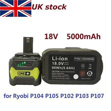 5.0Ah 18V COMPACT LITHIUM-ION BATTERY PACK For RYOBI ONE PLUS P108 P102 P107 P1