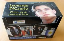 "PACK OF 12 LEONARDO DICAPRIO X 18 PHOTO SETS & PERSONAL FACTS - 6"" X 4"" PHOTOS"
