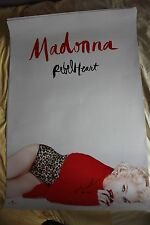"MADONNA Rebel Heart POSTER  PROMO POLISH 27"" x 38"" FREE DELIVERY"