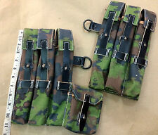 WWII GERMAN MP40 MAGAZINE POUCH SET - CAMOUFLAGE PRINT Custom-Made