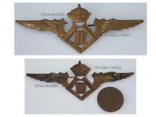 Belgium WW2 Pilot Wings Belgian Royal Air Force Military Aviation Insignia 1940