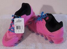 NWT Adidas Springblade Drive Junior Girls Running Shoes 7 Pink MSRP$140