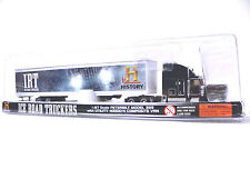 NORSCOT HO Scale 1/87 Peterbilt 389 with Ice road truckers Black Truck