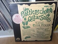 Peter Finger - Bottleneck Guitar Solos Kicking Mule VINYL LP