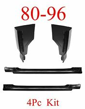 80 96 4Pc Slip-On Rocker & Cab Corner Kit Ford Truck, Regular Cab F150 F250 F350