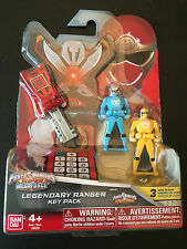 Power Rangers megaforce key set for legendary morpher Ninja storm rare set