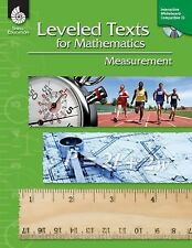Leveled Texts for Math Ser.: Measurement by Shell Education Staff and Christi...