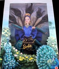 "Amazing 12"" The Peacock Barbie Doll Birds of Beauty Collector 1998 Mattel MIB"