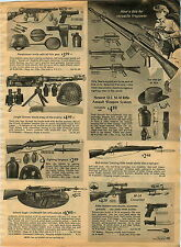 1967 ADVERT Toy US M-16 Rifle Assailt Weapon Johnny Eagle Gun M-14 Automatic