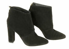 J Crew Adele Suede Ankle Boots Sz 6.5 7 Style# E0810 $288 Black Def
