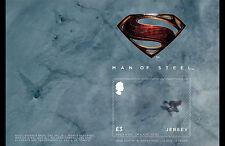 JERSEY 2013 SUPERMAN 3-D LENTICULAR SOUVENIR SHEET MNH