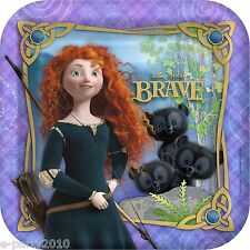 BRAVE LARGE PAPER PLATES (8) ~ Birthday Party Supplies Disney Pixar Dinner Lunch