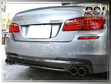 HM Type F10 M-Tech Bumper Carbon Fiber Rear Diffuser for 2011+ BMW F10 535i 550i