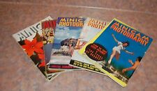 5 issues of  Minicam Photgraphy Magazine 1939, & 1940