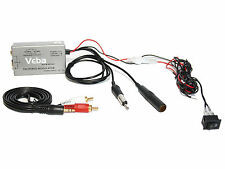 Veba Wired FM Modulator transmitter AVFM-MOD01 iPod iPhone MP3 in car music aux