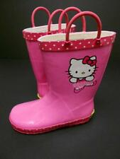 Hello Kitty Rubber Rain Boots Size 11/12~Western Chief~ Ballerina~ Toddler~Girls