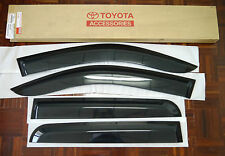 PZ033-0K012 TOYOTA HILUX SIDE VISOR RAIN SHIELD WIND DEFLECTOR GUARD 2005-2014