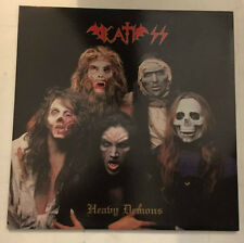 "DEATH SS PAUL CHAIN ""HEAVY DEMONS"" RARE LP 1st PRESS 1991 - MINT"