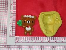 Good luck Bear Silicone Mold Fondant Cupcake A785 Gumpaste Chocolate Fondant