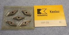 KENNAMETAL    CARBIDE  INSERTS     VNMP 332   GRADE  K6       PACK OF 5