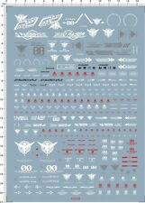 Super Detail Up 1/100 MG GN-0000+GNR-010 00 Raiser Gundam Decal Model Kit 62658